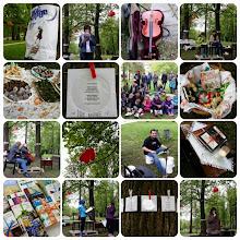 Photo: Jaz pa pojdem v knjige v Grajskem parku Ravne na Koroškem. (Foto Barbara Žvirc)  http://www.bajta.si/osrednje-novice/noc-knjige-ravne-na-koroskem