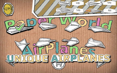 Paper World Airplanes Screenshot