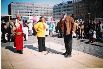 Photo: Martha Zamora ja Lasse Hjelt