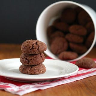 Spicy Chocolate Snickerdoodles.