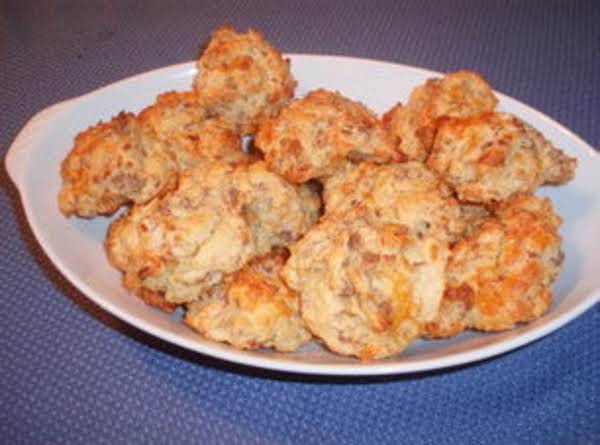 Cheese Sausage Biscuits