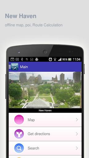 New Haven Map offline