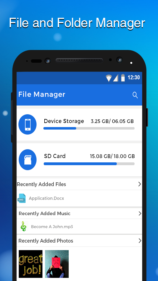 File Manager File Explorer- screenshot