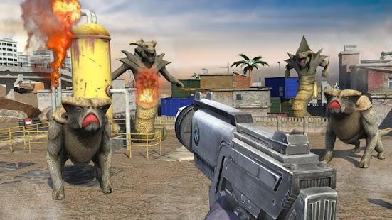 Alien Shooter Game 3D - náhled