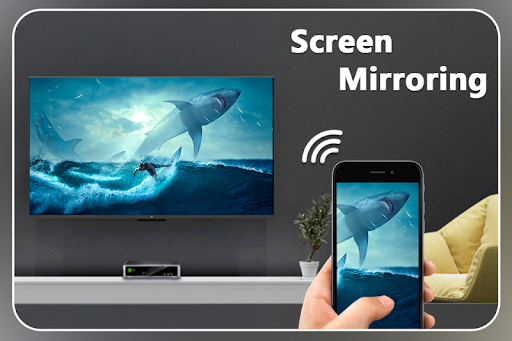 Screenshot for Screen Mirroring with TV : Mobile Screen to TV in United States Play Store
