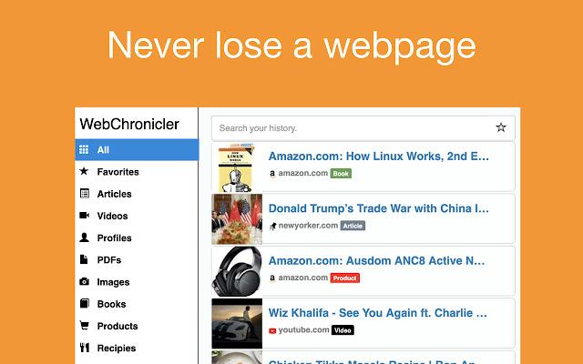 WebChronicler