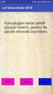 Laf Sokan Sözler-2018 - náhled