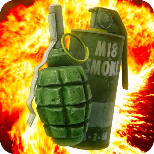 Grenade in Phone Simulator