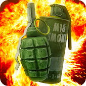 Grenade in Phone Simulator
