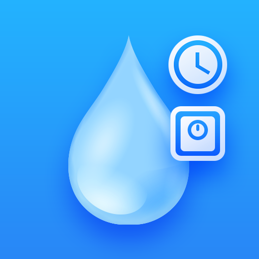 Drink Water Reminder Water Tracker & Drink Timer Icon