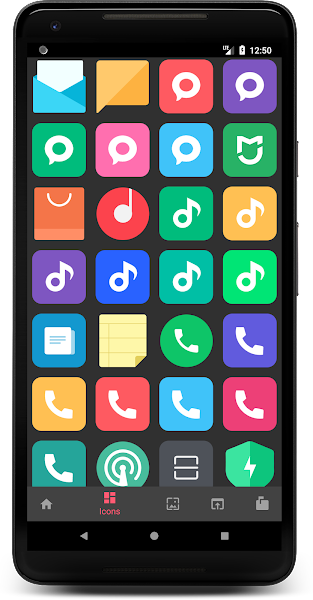 MIUI 10 - Icon Pack Screenshot Image