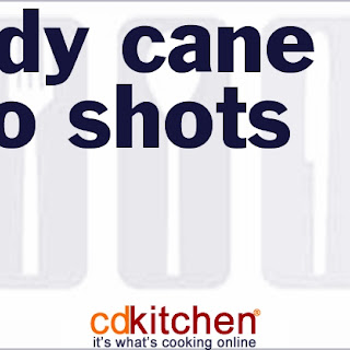 Candy Cane Jello Shots