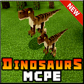 Dinosaurs for Minecraft PE Mod