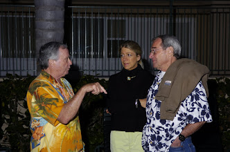 Photo: Ron Norton, Marilyn and Eric Cummings