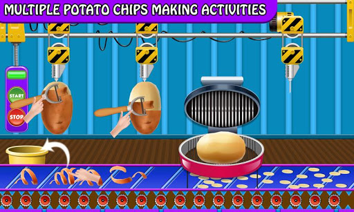 Crispy Potato Chips Maker Factory u2013 Snacks Making 1.0 screenshots 7