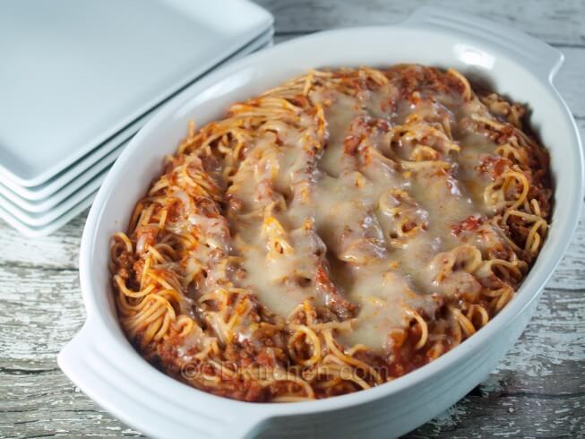 Baked American Spaghetti Recipe