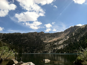 Photo: Star Lake, on yesterdays epic 8 hour, 10,000 foot+ adventure ride
