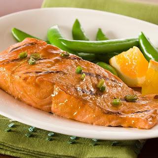 Ginger Honey Glazed Salmon Recipe