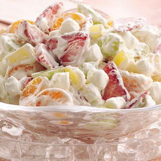 Pudding Fruit Salad.