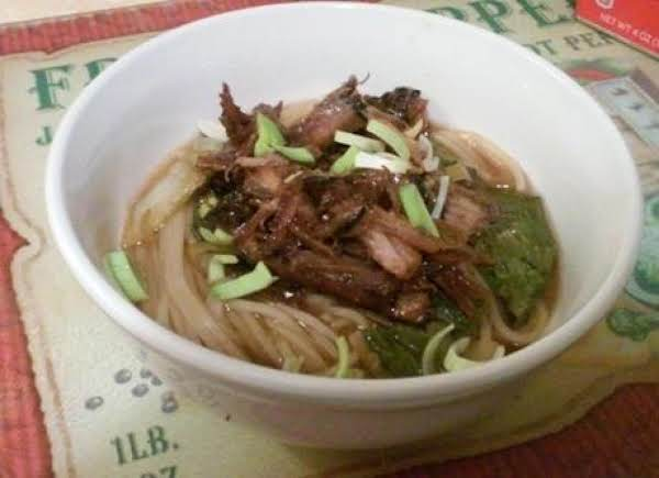 Miso Ramen With Teriyaki Pork Recipe