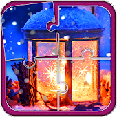 Winter Puzzle Game