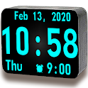Huge Digital Clock Pro icon