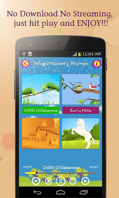 50 Telugu Nursery Rhymes - screenshot