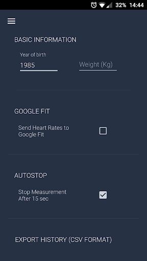 Heart Rate Monitor 4.9 screenshots 5