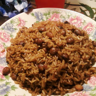 Bahamian Peas and Rice.