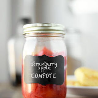Strawberry Apple Compote
