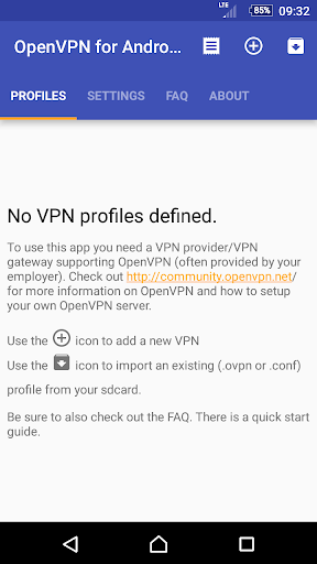 OpenVPN for Android 0.7.5 screenshots 5