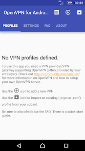 OpenVPN for Android- screenshot thumbnail