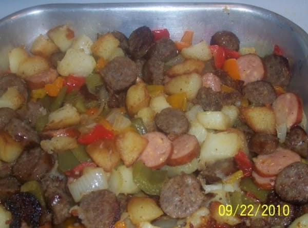 Deb's Sausage,peppers And Onions Recipe