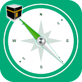 Qibla Direction Finder + Salat Times and Alarm