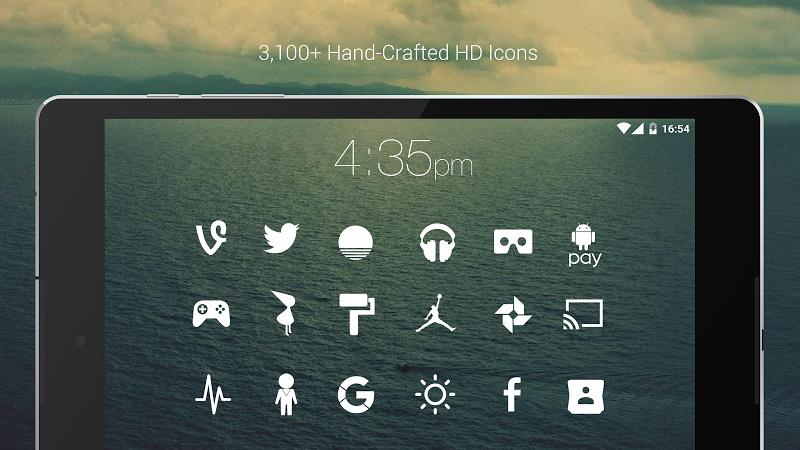 Flight - Flat Minimalist Icons (Pro Version) Screenshot 10