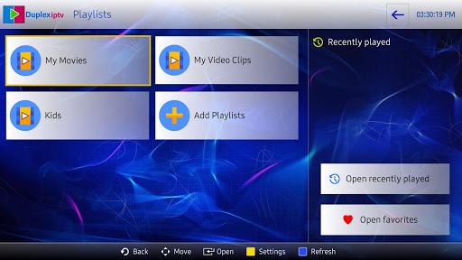Duplex IPTV 1.1.830 screenshots 1