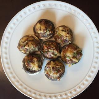 Chorizo Jack Stuffed Mushrooms Recipe