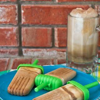 Root Beer Float Popsicle