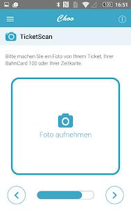 Choo - Bahn & Zug Erstattung Screenshot