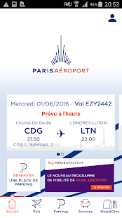 Paris Aéroport – Official App- screenshot thumbnail