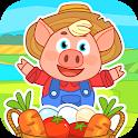 Farm for kids. icon