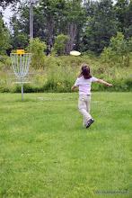 Photo: Disc golf at Burton Island State Park by Jessica Clarke
