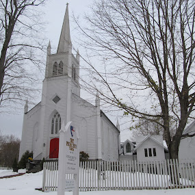 Christ Episcopal Church, Trumbull, CT by Donna Bell - Buildings & Architecture Places of Worship