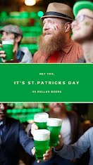 It's St. Patrick's Day! - Facebook Story item