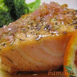 Sensational Summer Citrus Salmon