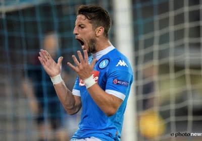 Club Brugge verliest zwaar van Napoli met een geïnspireerde Dries Mertens