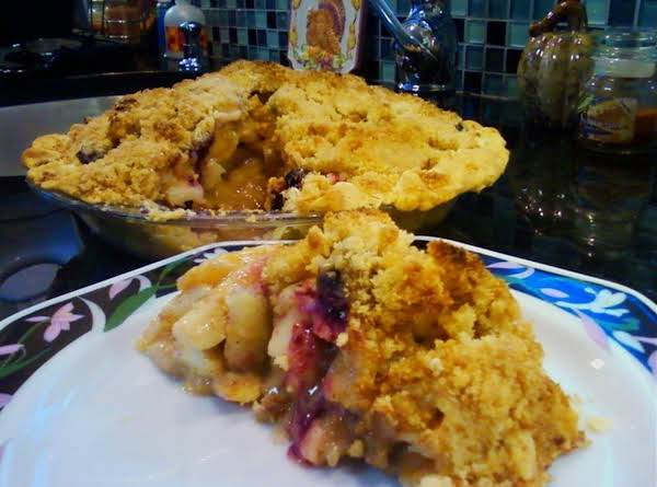 Apple Peach Pear Blueberry Pie Recipe