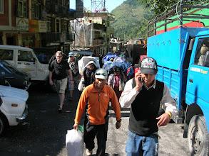 Photo: Tsering in Kodari, the bordertown between Nepal and China