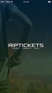 RipTickets - náhled