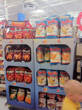 Photo: The front entrance was full of yummy deals! They know we are all shopping for summer time foods! My kids really wanted to stock up on Doritos thanks to this display!